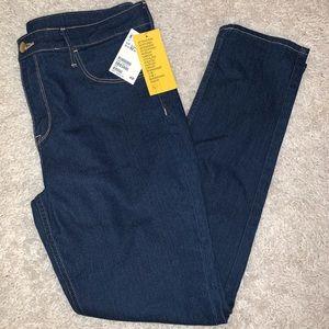 H&M skinny ankle length dark denim jeans